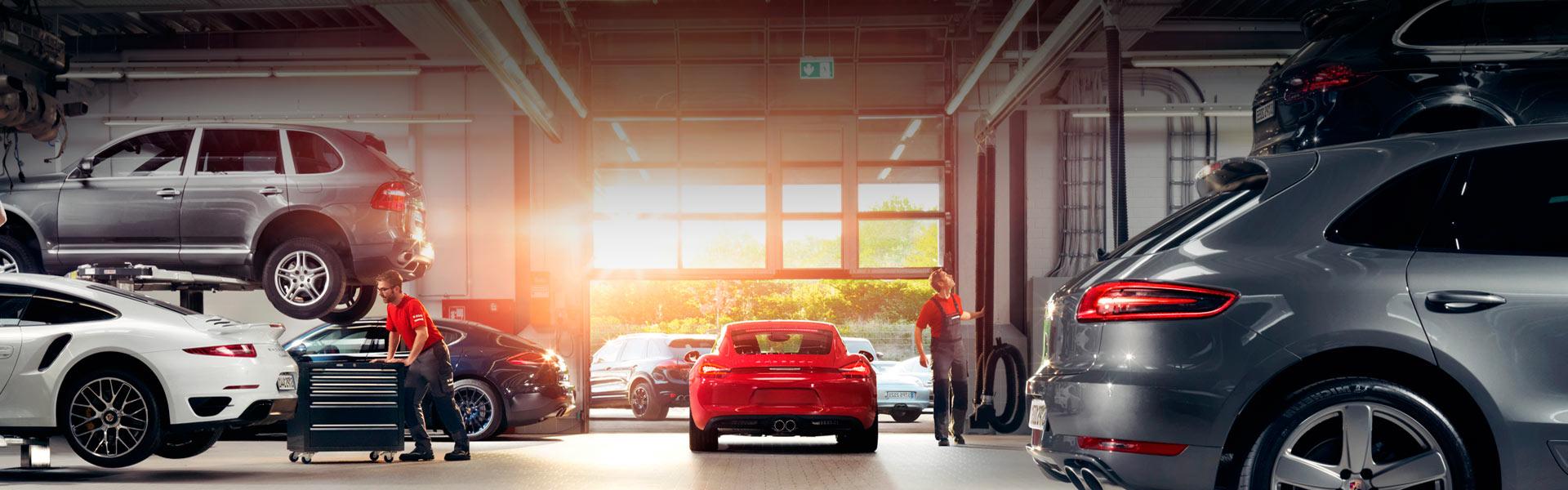 Замена свечей Porsche